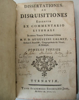 KNIHA DISQUISITIOES TYRNAVIAE 1751 ???