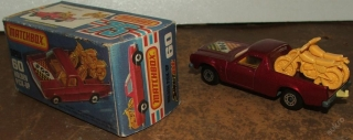 Model Matchbox Holden Pick-up + KRABIČKA